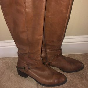 Franco Sarto Riding Boots with metal harness